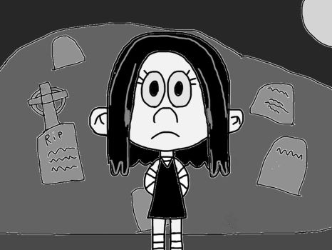 Lucy the Goth Child  by chanyhuman