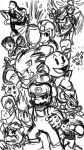 Super Cool Pose Bros by GBAKirbster2007