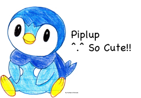 Piplup by EmpatheticMortalAnge