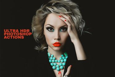 Free Ultra HDR Photoshop Actions by symufa