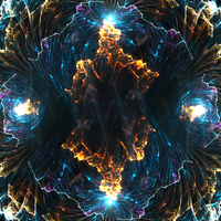 Wrinkle In Time - Fractal Art by CMWVisualArts