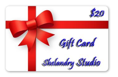 20 Gift Card by ShelandryStudio