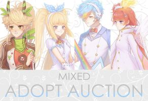 [CLOSED] MIXED AUCTION HUMANOID ADOPTS by AstroCat-sama