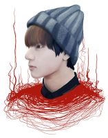 Kim Taehyung (V) BTS by ChewieFromFTOWN