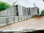 Istiqlal Mosque by G4B2TER