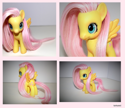 Fluttershy Toy by tertunni
