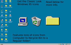 Windows 95 Icons by Sephiroth121