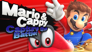 'Mario and Cappy' Splash Card! by SmashRoyale