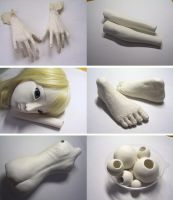 2nd Ball Jointed Doll Making by hal-io