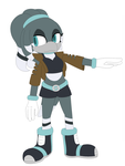 Pieia the Magpie (Sonic Oc) by oOSpottedtailOo