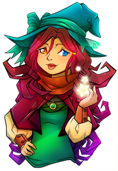 A Witch and her Stars by Mayfawn