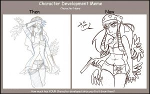 Character Differences Meme by drazzi