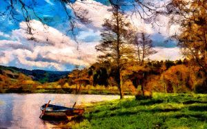 Lakeside by montag451