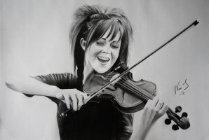 Drawing of Lindsey Stirling by Niiina97