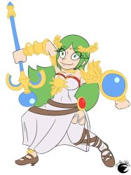 Palutena by Dalley-Le-Alpha