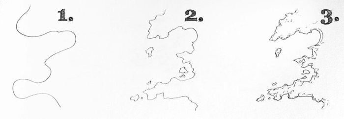 How to Draw Realistic Coastlines by torstan