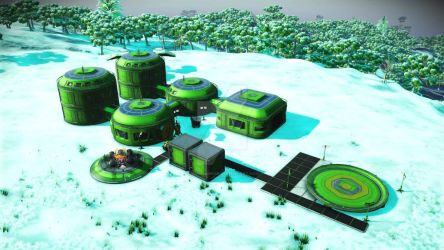 NestHaus - Emerald Prime (NmS) (BUILD A) by SammySin666