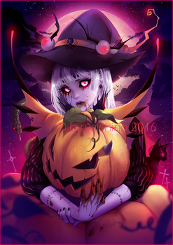 Happy Halloween by yaichino