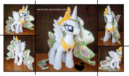 Brocade Plushie Sisters: Celestia (For Sale) by weRDunfo