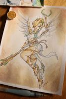 Winged Victory Mercy by Sulfurika