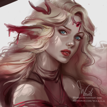 Blood Vampire by Whails