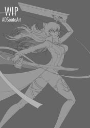 WIP - Summer Time Blake battle by ADSouto