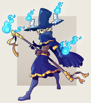 COMMISSION: Wizard by Cubesona
