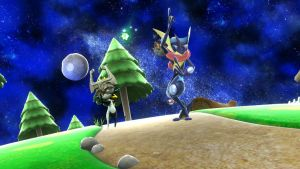 SSBWii U Screenie - Greninja meets Midna in HD by thebestmlTBM