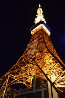 Tokyo Tower by Muse-4-Life
