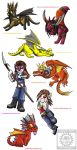 chibis round 2 by thechaosproject