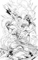 SUPERMAN-DOOMSDAY Commission-Grummett/Hazlewood by DRHazlewood