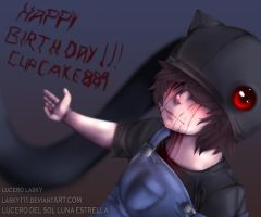 OLIVER:: Happy birthday Cupcake889 by lasky111