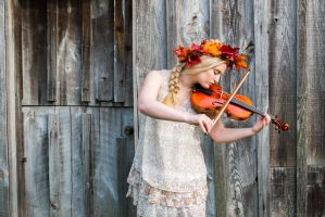 She played her heart out by DaveMylesPhotography