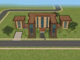 sims 2 house n. 12 p. 1 by PeaceInfinityStars