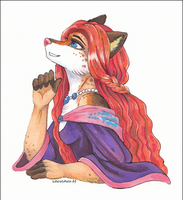 -First marker attempt: Vixen- by SnowSnow11