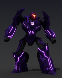 Transformers WFC Decepticon Clone Prime Vehicon 1 by JLMDesign