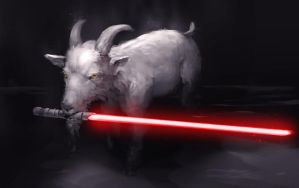Darth Baa by jeffchendesigns