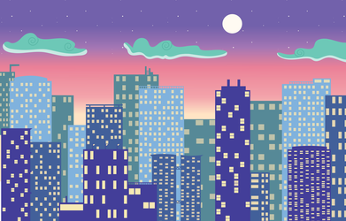 cityscape by lunasillusions