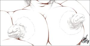 PHAT NIPS 2 PENCIL by Artistik-Bootya