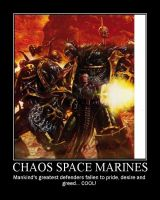 Chaos Space Marines by Jamstar501st
