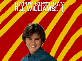 Happy Birthday RJ Williams! by Nolan2001
