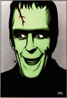 HERMAN MUNSTER by mister-bones