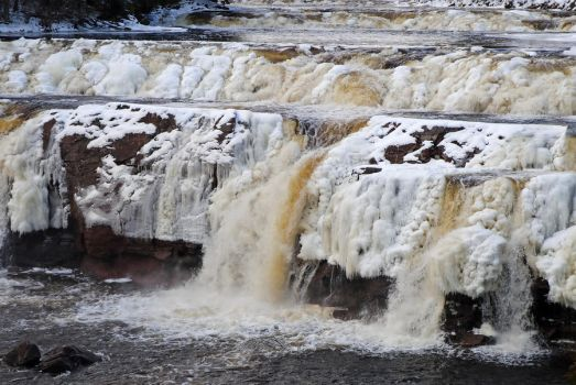 Lepreau Waterfalls 2 by LucieG-Stock