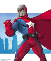 City of Heroes - The Statesman by genekelly