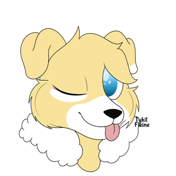 Momo the pup / Request by TykitFleine