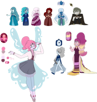 20 POINTS ONLY SU GEM ADOPTS (CLOSED) by SmilesUpsideDown