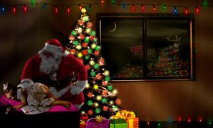 Santa is Coming to Town by Sp0rtskiller03