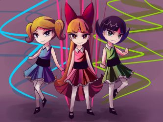 We are the Powerpuff Girls by Ami-Magane