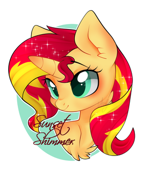 Sunset Shimmer by abc002310