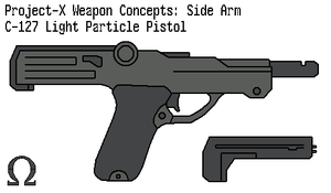 Particle Pistol by omegafactor90